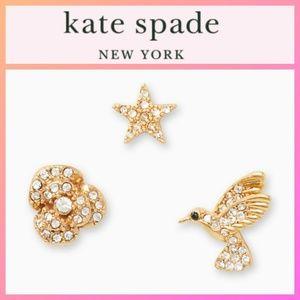 Kate Spade Grandma's Closet 3 Pack Studs